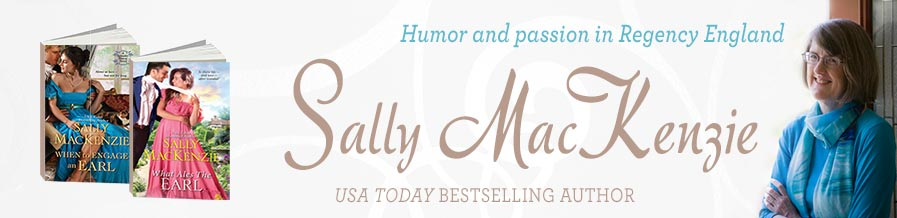 Sally MacKenize, USA Today Bestselling Author